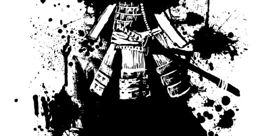 samurai general a una tinta