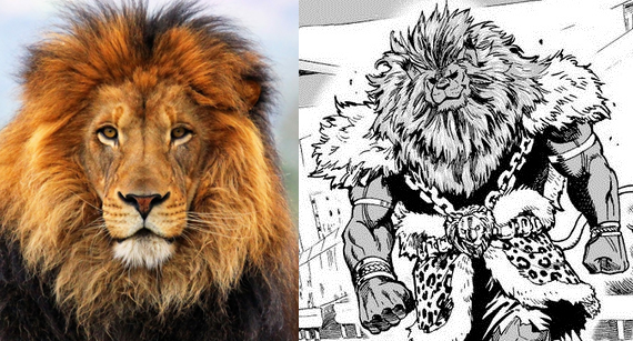 león-manga