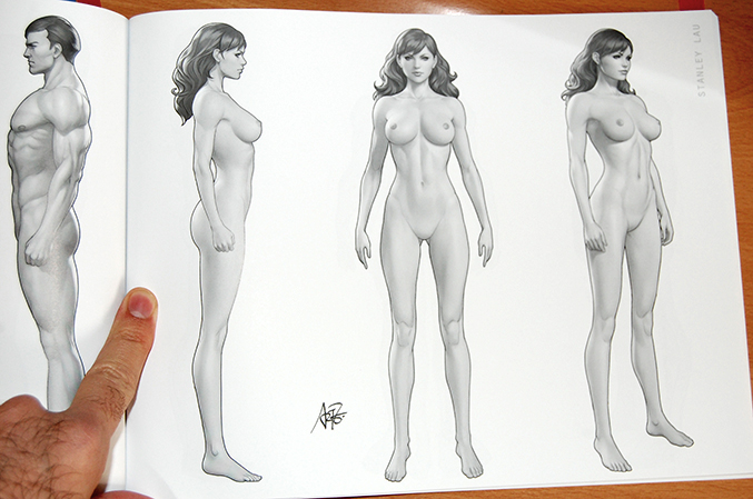 masters of anatomy artgerm