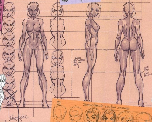 j scott campbell sketch