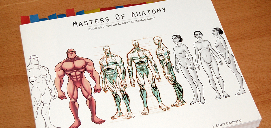masters of anatomy artbook