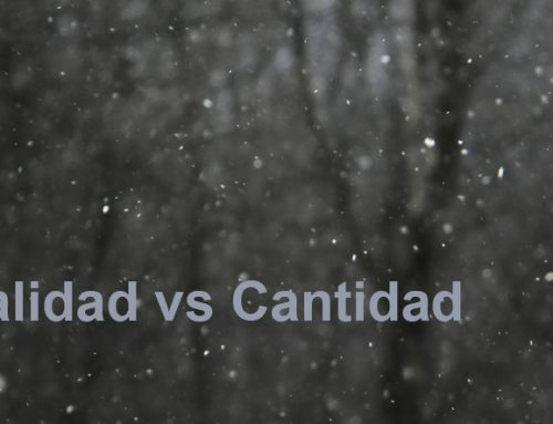 Calidad vs Cantidad