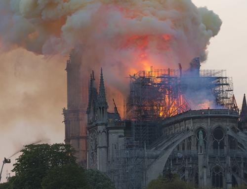 Una lección de dibujo que aprendí con el incendio de Notre Dame